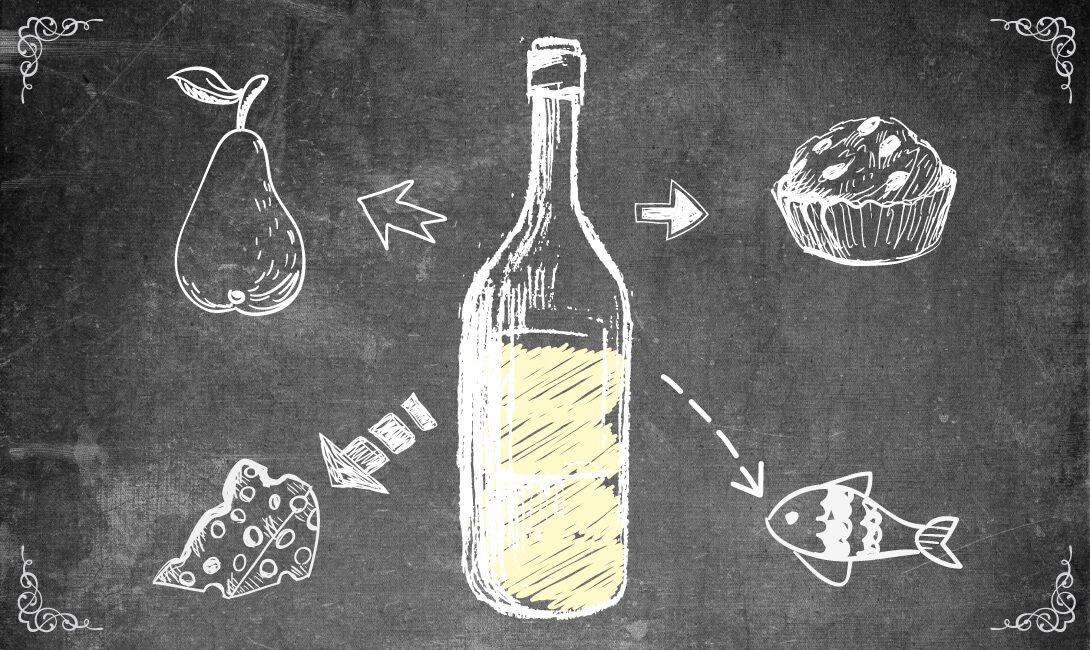 Чем закусывают белые вина