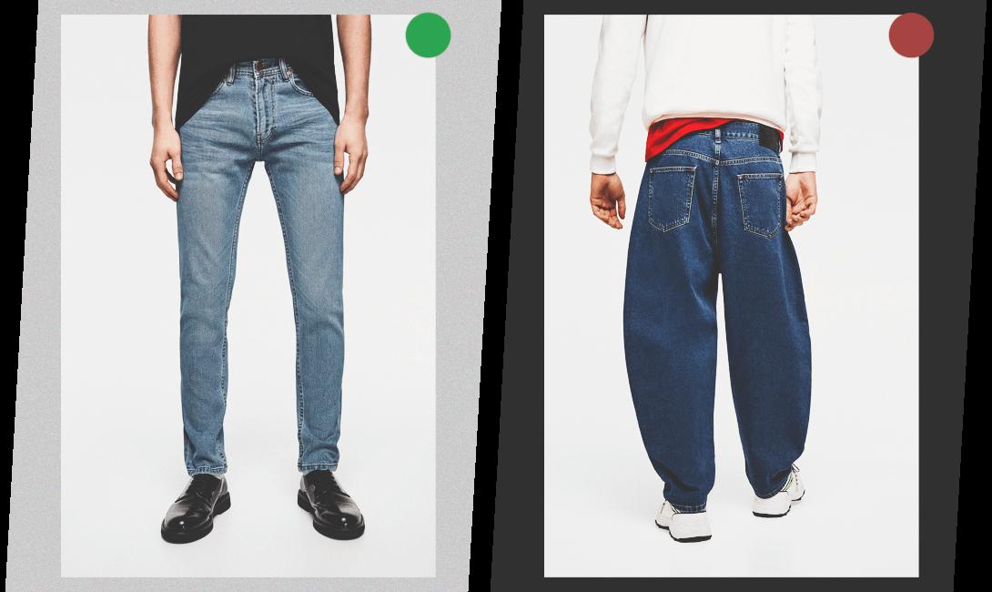 Картинки на тему джинсы для худых парней. Какие подходят, а какие нет