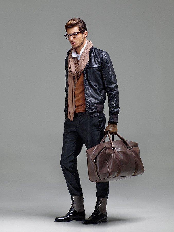 Картинки brodude.ru на тему мужских сумок. Деловая дорожная сумка