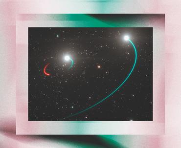 Учёные обнаружили чёрную дыру — её орбитальные звёзды можно увидеть без телескопа