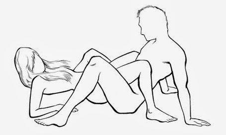 Картинки на тему позы для секса. Поза паук